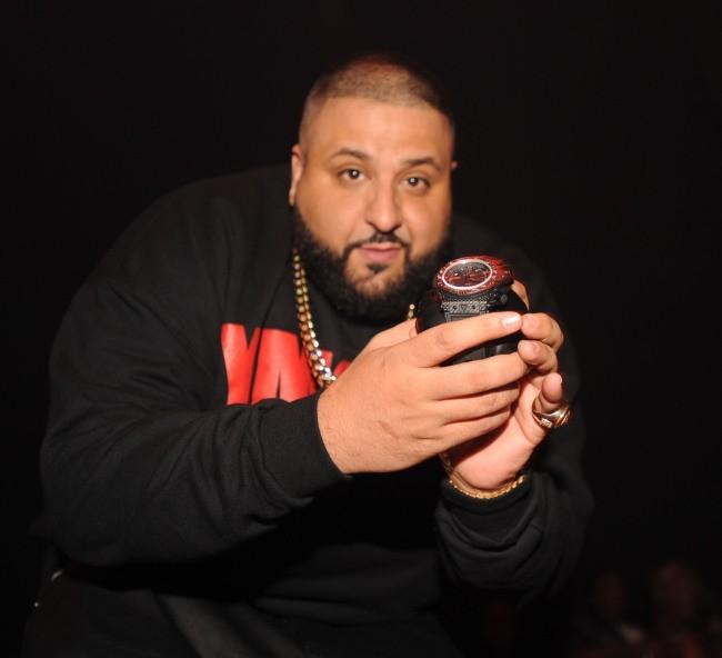 DJ Khaled lors de sa soirée d'anniversaire à Miami, le 26 novembre 2012.