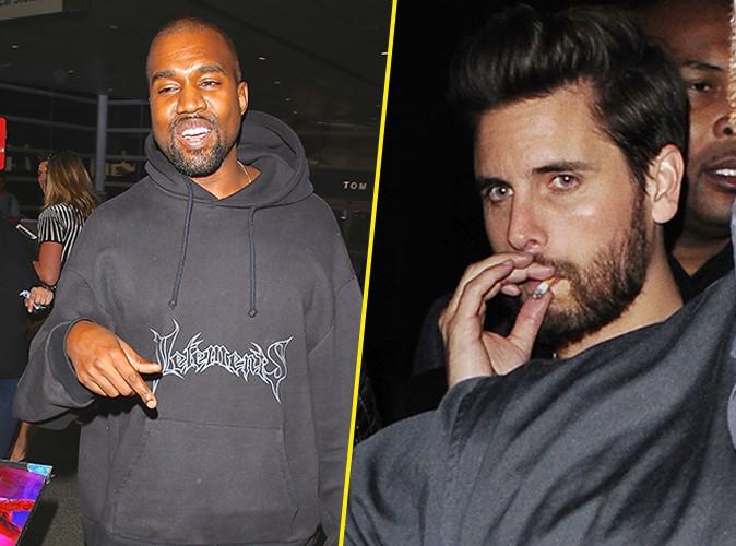 Photos : Kanye West : pendant qu'il bave sur le corps de Kim, Scott Disick part en rehab !
