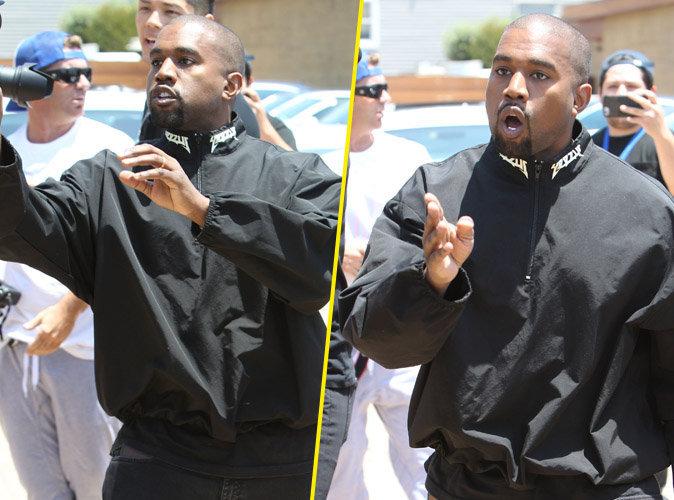 Photos : Kanye West : Toujours aussi colérique, il s'en prend encore une fois à un paparazzi !