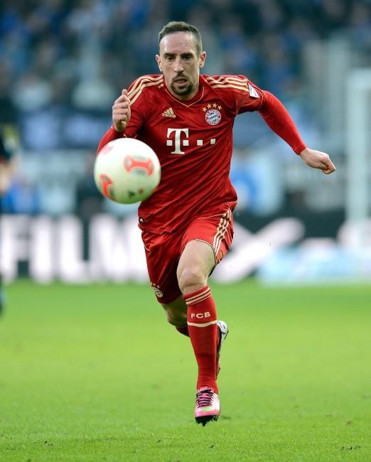 Franck Ribéry, milieu offensif du Bayern Munich : 11, 5 millions d'euros