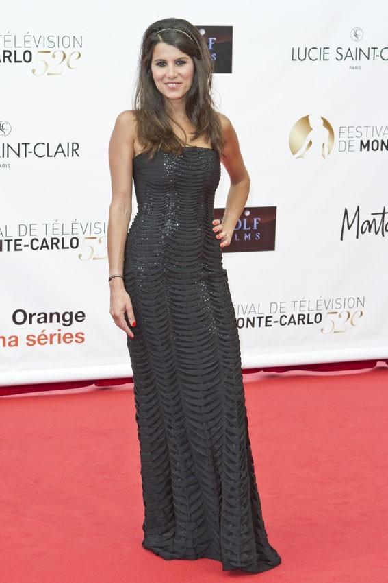 Karine Ferri pour l'ouverture du Festival de Monte-Carlo 2012