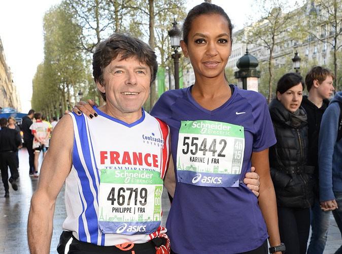 Karine Le Marchand : elle a retrouvé Philippe (L'amour est dans le pré saison 7) au marathon de Paris !