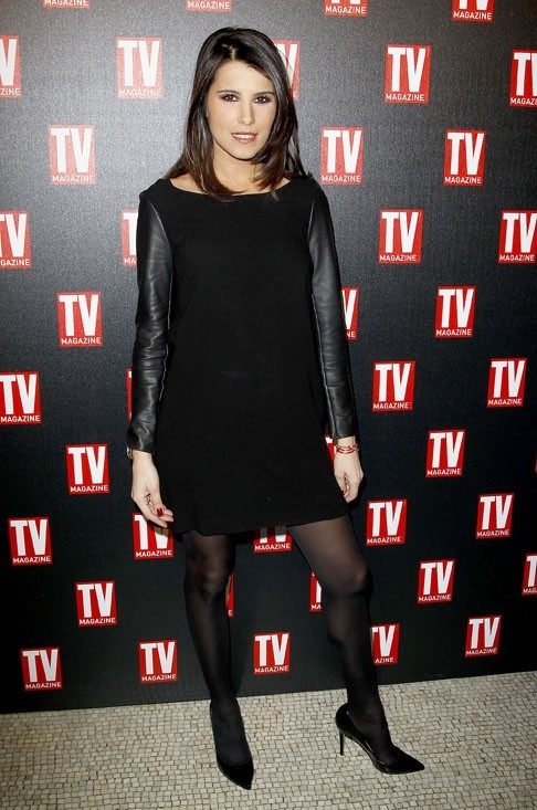 Karine Ferri, toujours fashion