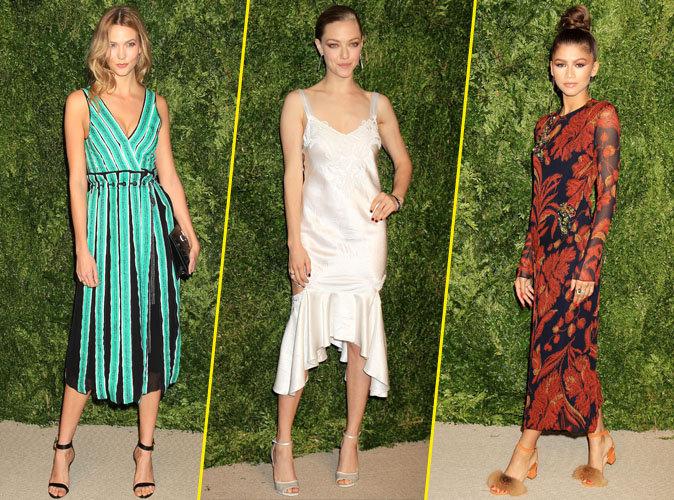 Karlie Kloss, Amanda Seyfried, Zendaya : trois drôles de dames à New York !