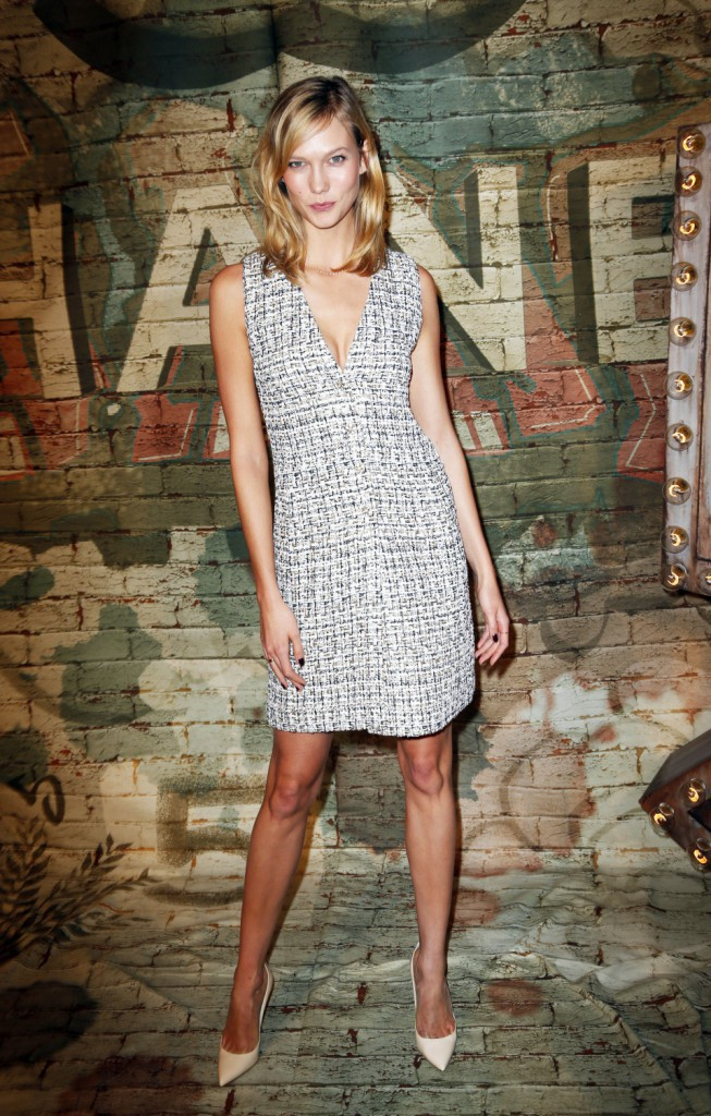 Karlie Kloss à New York le 13 octobre 2014