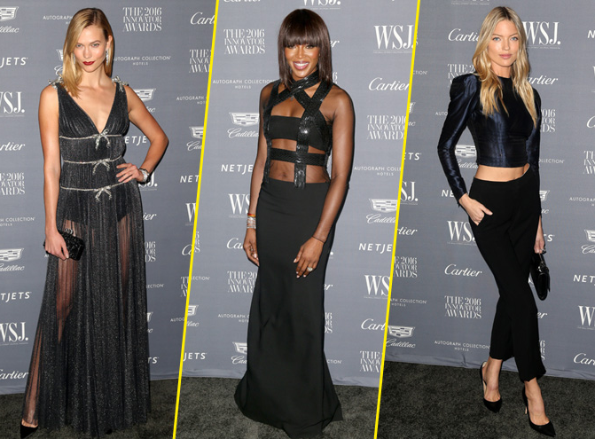 Photos : Karlie Kloss, Naomi Campbell, Martha Hunt... Toutes sublimes pour les Wall Street Journal Innovator Awards