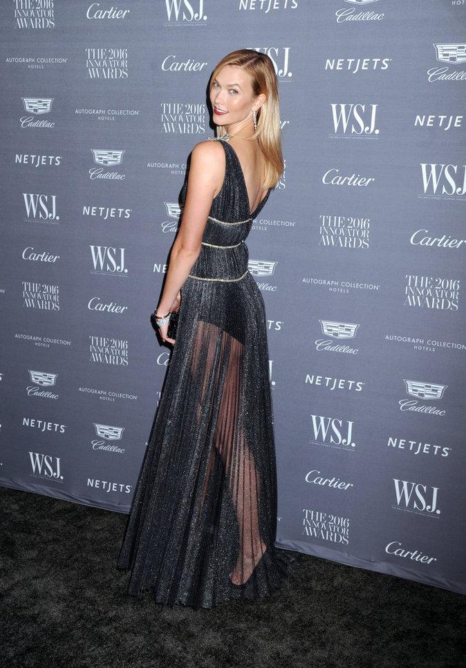 Photos : Karlie Kloss pour les Wall Street Journal Innovator Awards