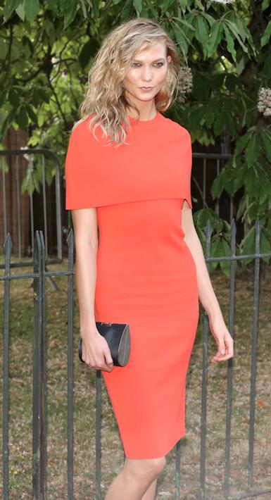 Karlie Kloss le 2 juillet 2015