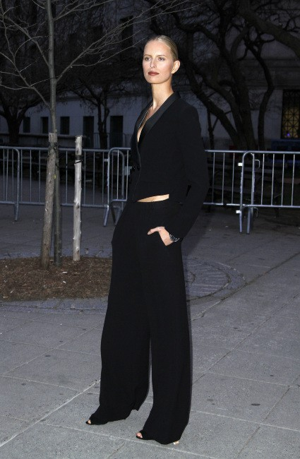 "Karolina Kurkova lors de la soirée ""11th Annual TriBeCa Film Festival Vanity Fair Party"" à New York, le 16 avril 2013."