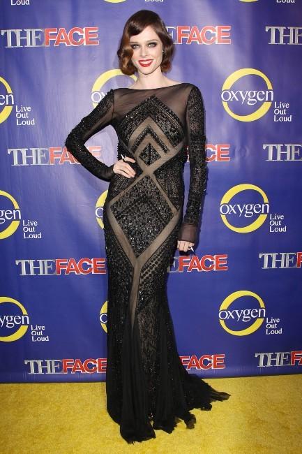 Coco Rocha lors de la première de The Face à New York, le 5 février 2013.