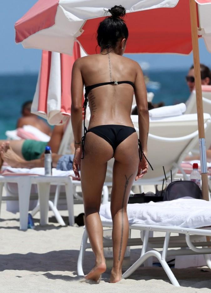 Karrueche Tran à Miami Beach, le 18 juin 2013.
