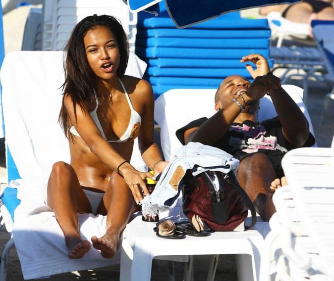 Karrueche Tran : elle trouve du réconfort auprès de ses amis, sous le soleil de Miami !