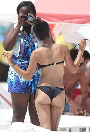 Karruche Tran à Miami le 15 juin 2013