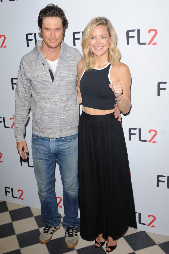 Kate et Oliver Hudson le 4 juin 2015