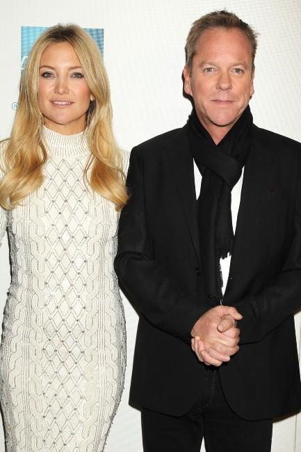 """Kate Hudson et Kiefer Sutherland lors de la première du film """"Reluctant Fundamentalist"""" à New York, le 22 avril 2013."""