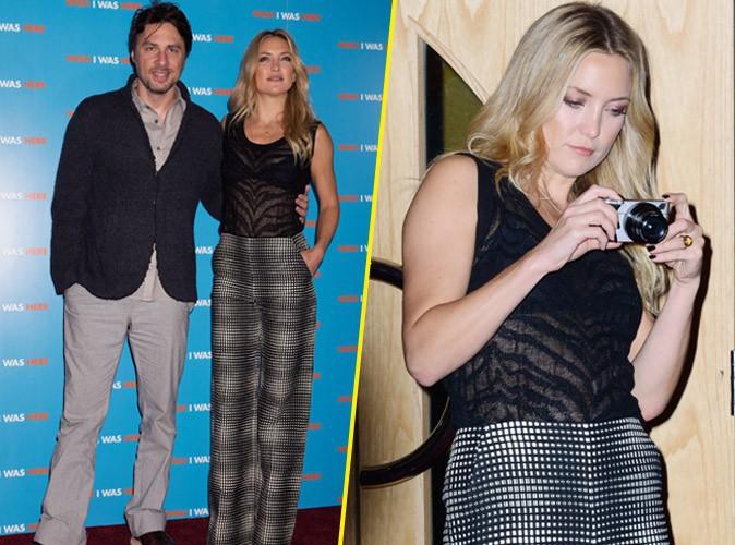 Kate Hudson : elle s'improvise paparazzi sur le redcarpet Londonien de Wish I Was Here !
