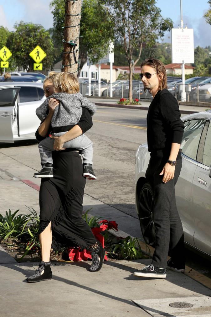 Matthew Bellamy et Kate Hudson le 17 décembre 2014