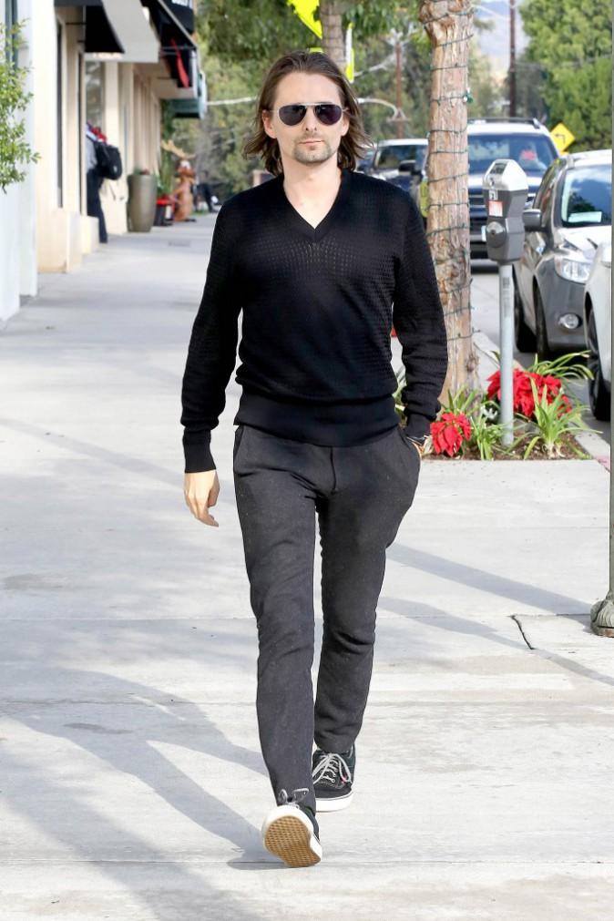 Matthew Bellamy le 17 décembre 2014