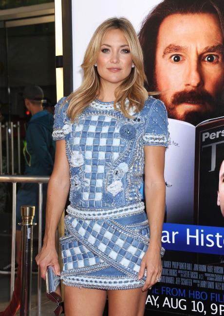 """Kate Hudson lors de la première de """"Clear History"""" à Los Angeles, le 31 juillet 2013."""