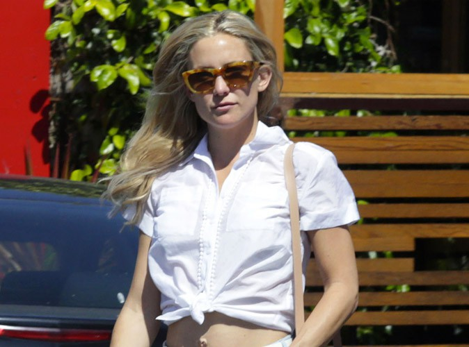 Photos : Kate Hudson : short et nombril à l'air, c'est déjà l'été !