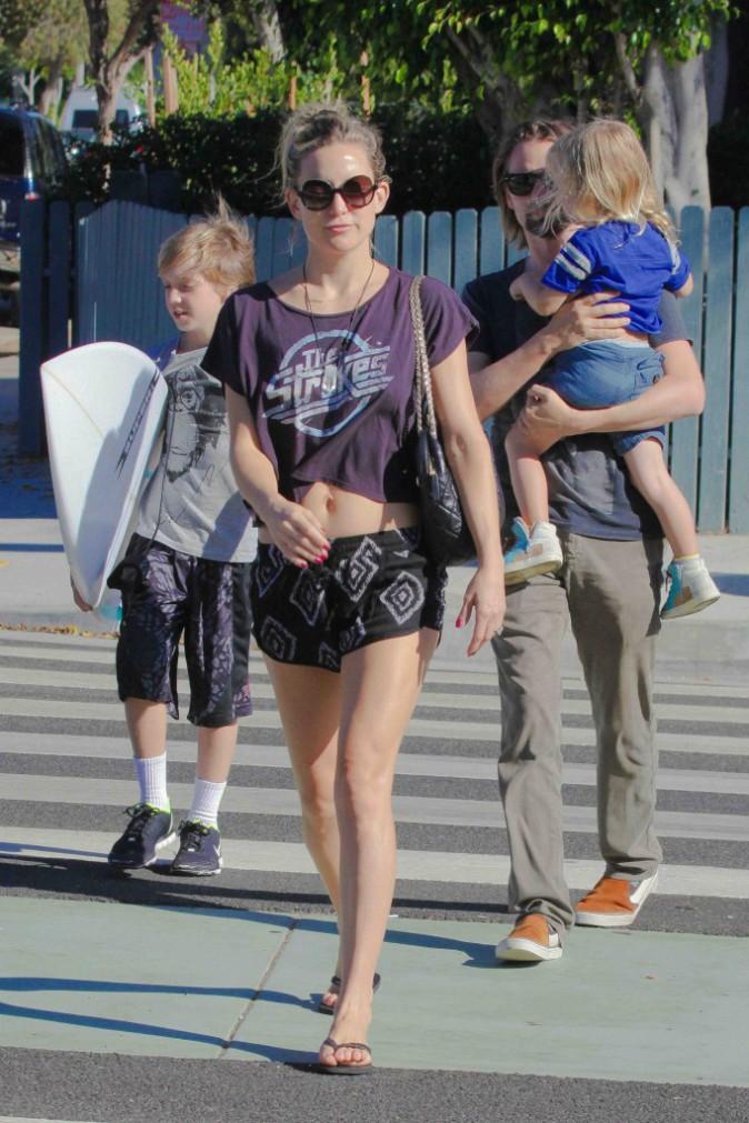 Kate Hudson : très heureuse en couple mais pas pressée de se marier !