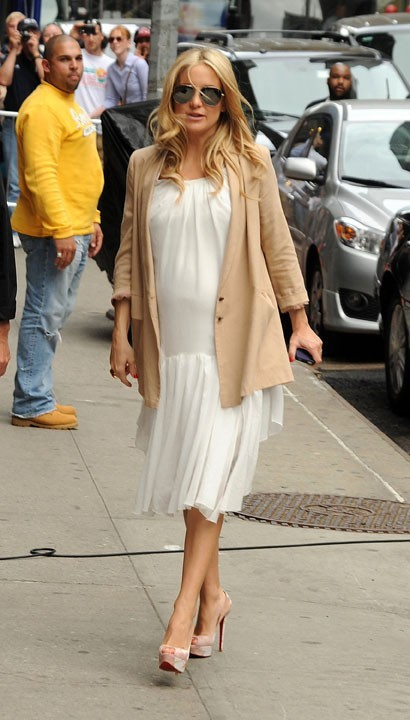 Kate Hudson à New york, le 27 avril 2011.