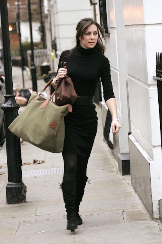 """Le 14 décembre 2006, Kate n'est encore que la """"girlfriend"""" de William"""
