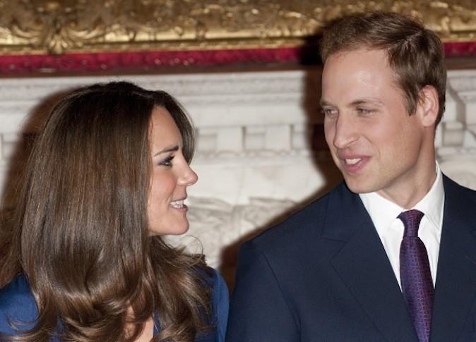 Le 16 novembre 2010 lors de l'annonce de leurs fiançailles