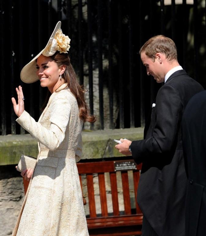 La Duchesse de Cambridge n'a pas fait dans la subtilité !