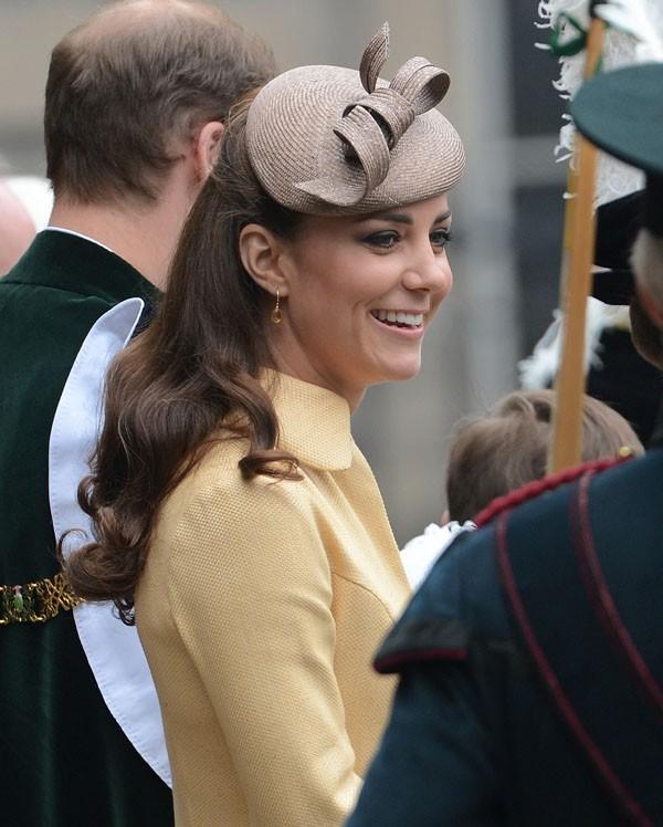 """La famille royale à la cérémonie """"Order of the thistle"""" le 5 juillet 2012"""