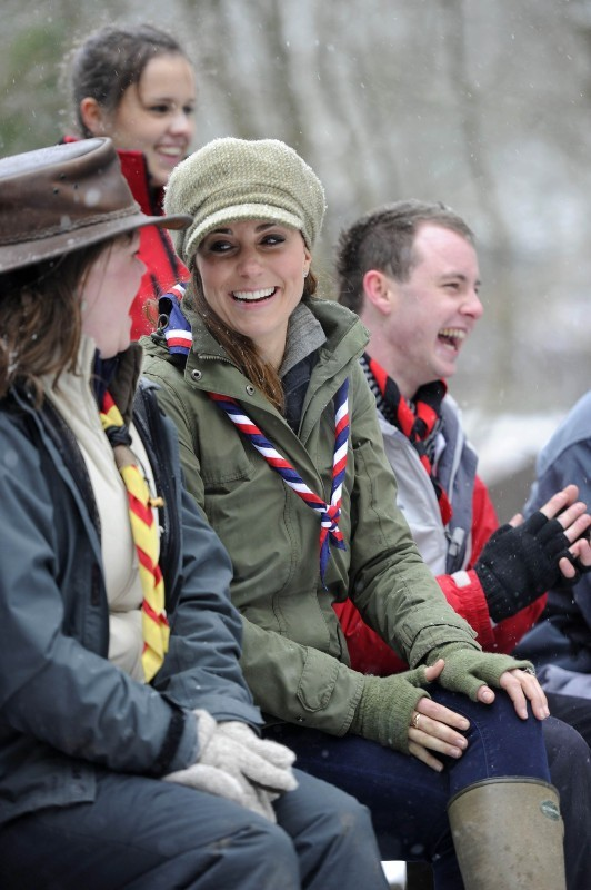 Kate Middleton, Manchester, 22 mars 2013.
