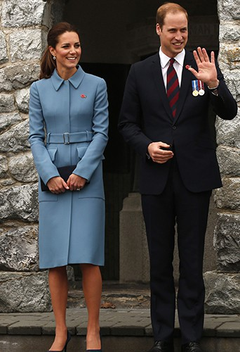 Kate Middleton et le Prince William à Blenheim le 10 avril 2014