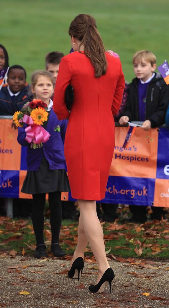 Kate Middleton à Norwich le 25 novembre 2014