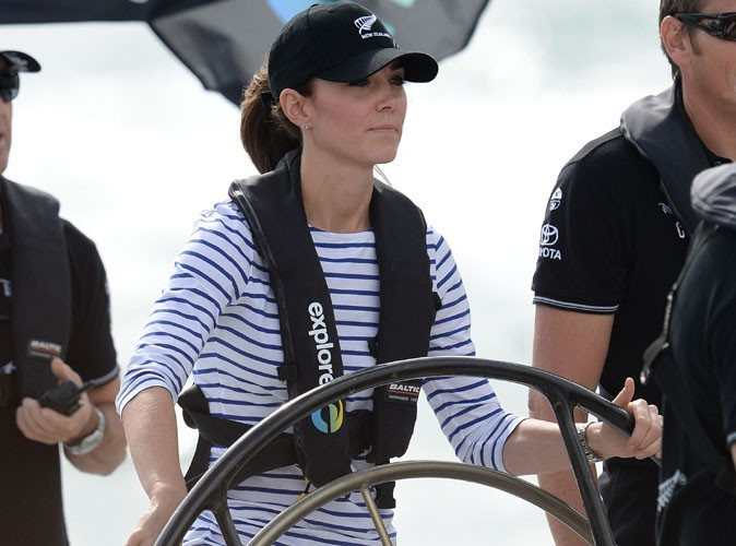 Kate Middleton : en compétition face à son homme, la Duchesse ne rigole pas !