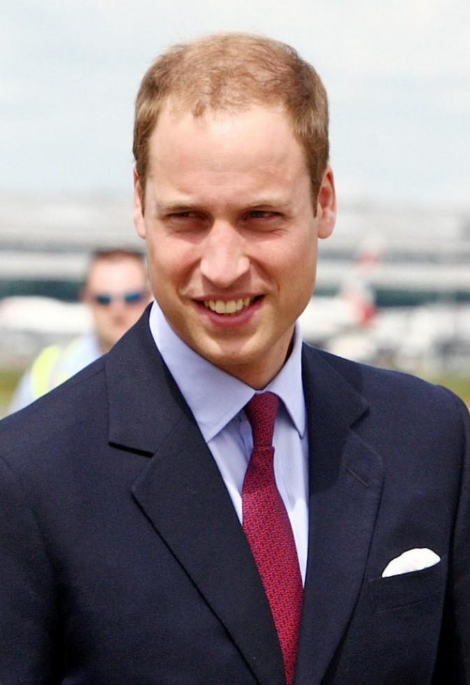 Le prince William à l'aéroport d'Heathrow !