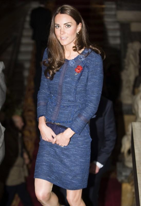 Kate Middleton à Londres, le 26 avril 2012.