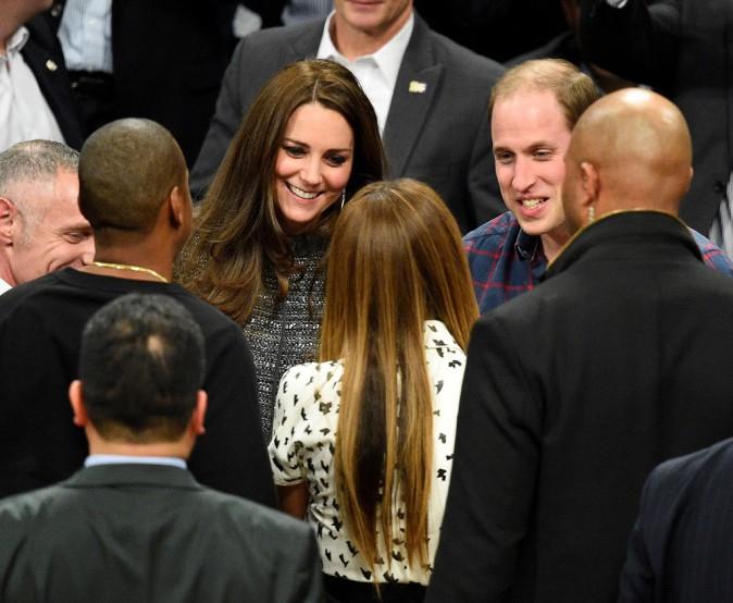 Kate Middleton, le prince William, Beyoncé et Jay-Z le 8 décembre 2014