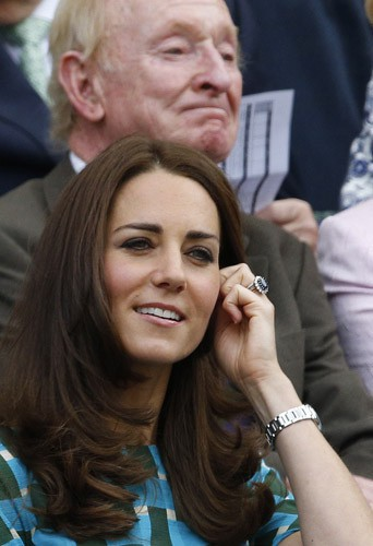 Kate Middleton et le prince William, David et Victoria Beckham : d�fil�s de stars � Wimbledon !