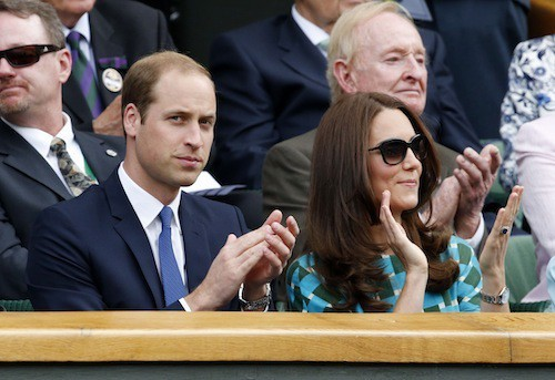 Photos : Kate Middleton et le prince William, David et Victoria Beckham : défilés de stars à Wimbledon !