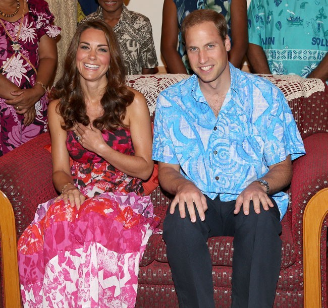 Kate Middleton et le Prince William le 16 septembre 2012 à Honiara