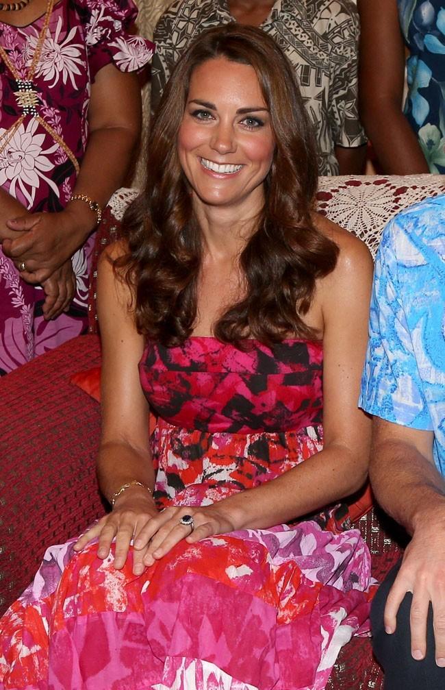 Kate Middleton le 16 septembre 2012 à Honiara
