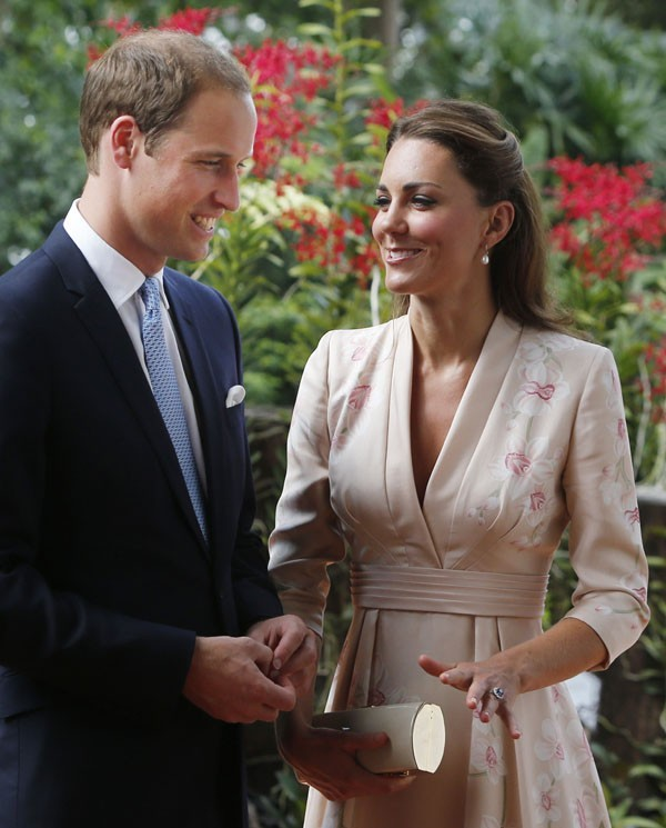 Kate Middleton et le Prince William à Singapour le 11 septembre 2012