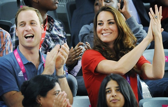 Prince William et Kate Middleton à Londres le 30 août 2012