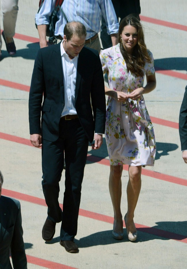 Kate Middleton et le Prince William le 19 septembre 2012 à Brisbane, en Australie