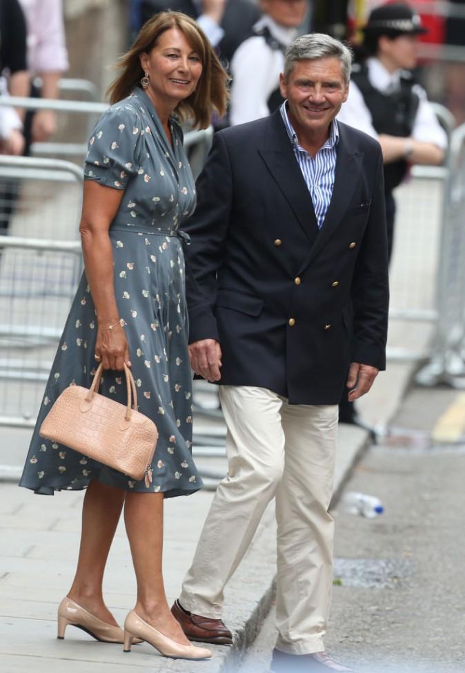 Carole et Michael Middleton.