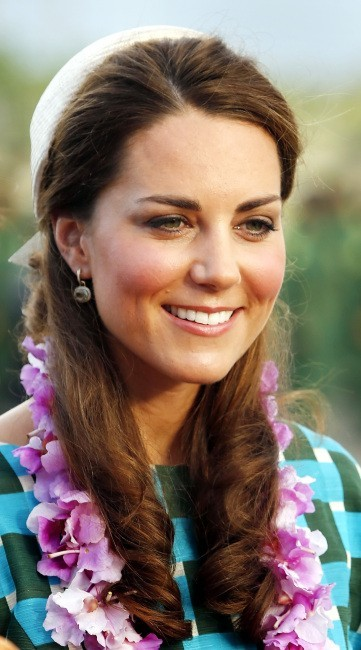 Kate Middleton et le Prince William, Iles Salomon, 16 septembre 2012.