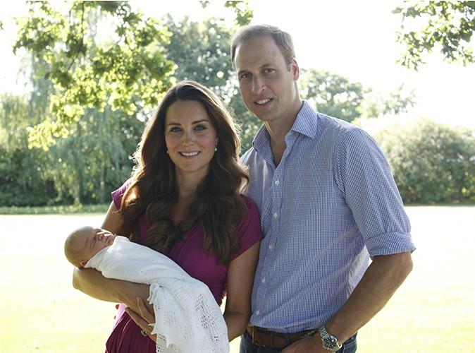 Photos : Kate Middleton et Prince William : découvrez les premiers clichés officiels du Prince George !