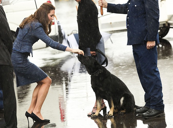 Kate Middleton à Wellington le 16 avril 2014