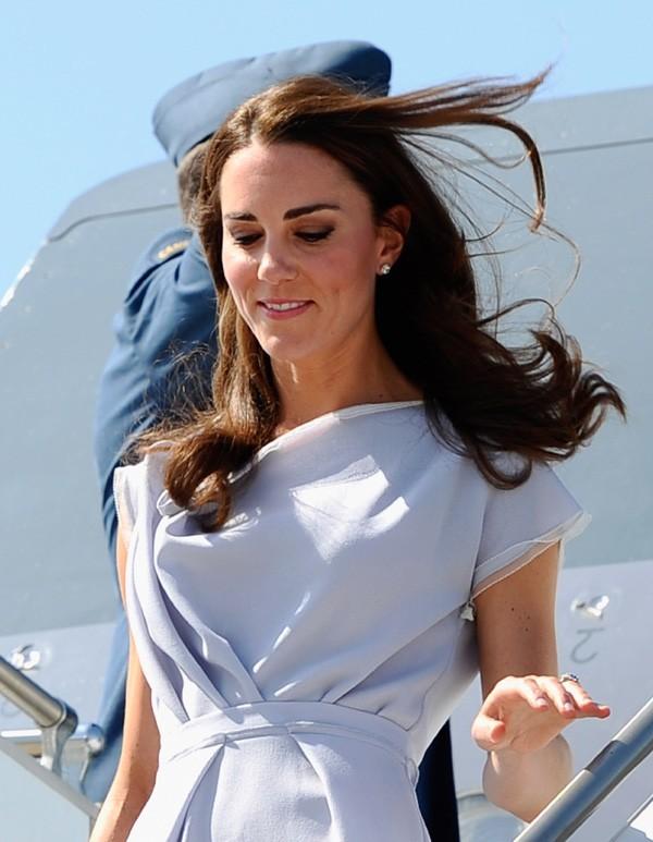 Kate les cheveux dans le vent !