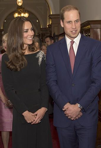 Kate Middleton et le Prince William à Wellington le 10 avril 2014